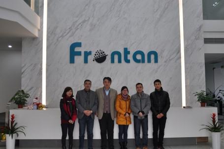 播恩集团一行5人考察上海富朗特公司